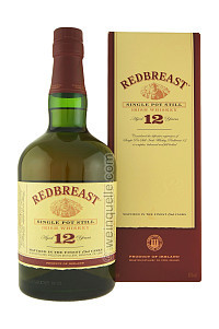 Single Pot Still Irish, 12 Years, 40% ABV, $45